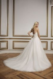 Justin Alexander Wedding Dress 8842 Back