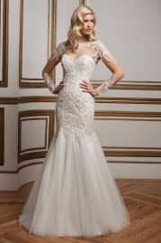 Justin Alexander Wedding Dress 8844