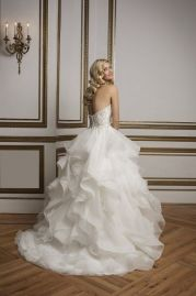 Justin Alexander Wedding Dress 8845 Back