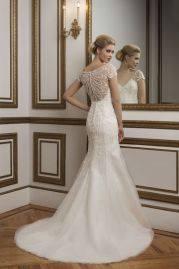 Justin Alexander Wedding Dress 8846 Back