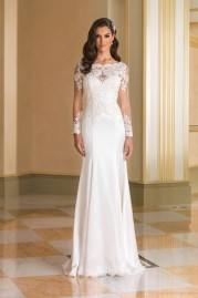Justin Alexander Wedding Dress 8864