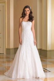 Justin Alexander Wedding Dress 8865