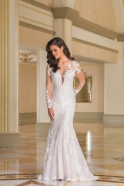Justin Alexander Wedding Dress 8870