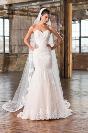 Justin Alexander Wedding Dress 9826