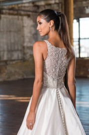 Justin Alexander Wedding Dress 9827