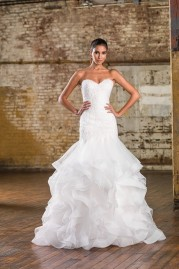 Justin Alexander Wedding Dress 9833