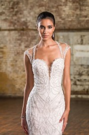 Justin Alexander Wedding Dress 9837