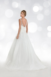 Orea Sposa Wedding Dress L758 Back