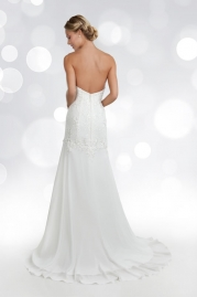 Orea Sposa Wedding Dress L777 Back