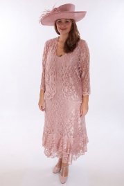 Penguin Designs Occasion Wear Pink Naomi