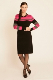 Pomodoro Colourblock Dress