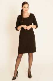 Pomodoro Double Jacquard Dress