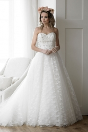 Rosa Couture Wedding Dress Crystal