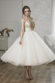 Rosa Couture Wedding Dress Pixie