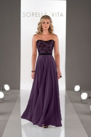 Sorella Vita Bridesmaids Dress 8457