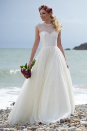 Stephanie Allin Wedding Dress Misty