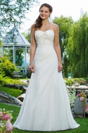 Sweetheart Wedding Gown 6088