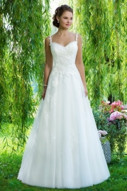 Sweetheart Wedding Gown 6090