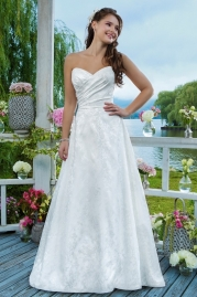 Sweetheart Wedding Gown 6091