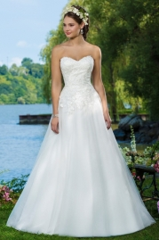 Sweetheart Wedding Gown 6093