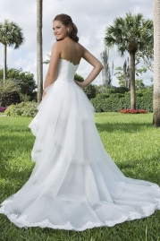 Sweetheart Wedding Gown 6105 Back
