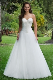 Sweetheart Wedding Gown 6106
