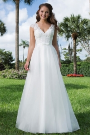 Sweetheart Wedding Gown 6107