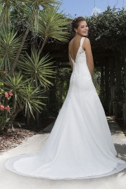 Sweetheart Wedding Gown 6109 Back