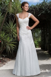 Sweetheart Wedding Gown 6109
