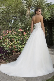 Sweetheart Wedding Gown 6110 Back