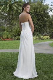 Sweetheart Wedding Gown 6111 Back