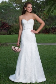 Sweetheart Wedding Gown 6114