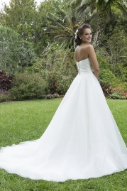 Sweetheart Wedding Gown 6115 Back