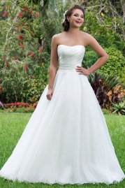 Sweetheart Wedding Gown 6115