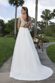 Sweetheart Wedding Gown 6116 Back