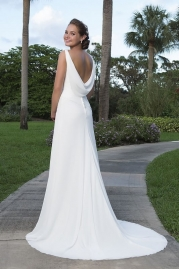 Sweetheart Wedding Gown 6118 Back