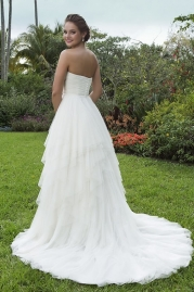Sweetheart Wedding Gown 6119 Back
