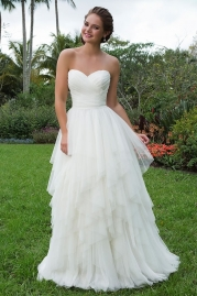 Sweetheart Wedding Gown 6119