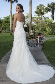 Sweetheart Wedding Gown 6120 Back
