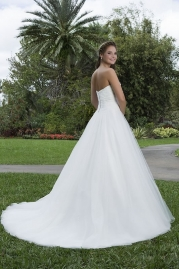 Sweetheart Wedding Gown 6123 Back