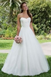 Sweetheart Wedding Gown 6123