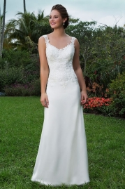 Sweetheart Wedding Gown 6124