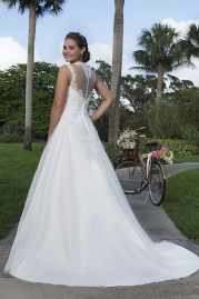 Sweetheart Wedding Gown 6125 Back