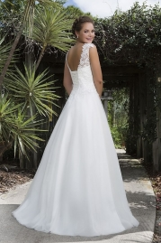 Sweetheart Wedding Gown 6127 Back