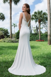 Sweetheart Wedding Gown 6129 Back