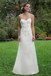 Sweetheart Wedding Gown 6130