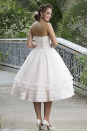 Sweetheart Wedding Gown 6131 Back