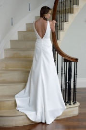 Veromia DZage Wedding Dress D31551 Back