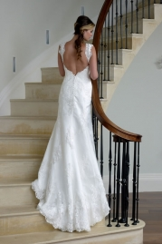 Veromia DZage Wedding Dress D31552 Back