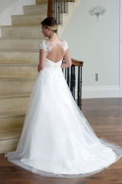 Veromia DZage Wedding Dress D31554 Back